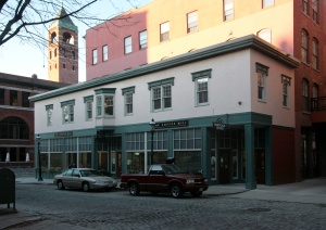Modest WalK-up Mixed Use Building in Lowell, MA By Sandy Sorlien/The Transect Collection