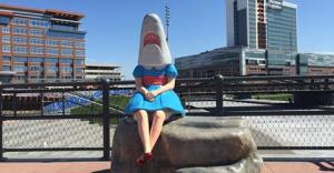 shark girl canalside buffalo