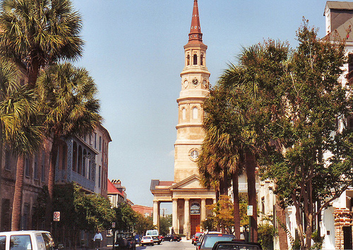 Charleston-Churches street